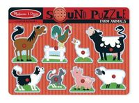 FARM ANIMALS SOUND PUZZLE R: 10726
