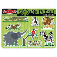 ZOO ANIMALS SOUND PUZZLE R: 10727