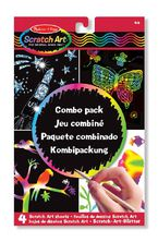 SCRATCH ART COMBO PACK R: 15804