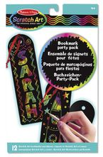 BOOKMARK SCRATCH ART PARTY PACK R: 15906