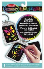 KEY CHAIN SCRATCH ART PARTY PACK R: 15921