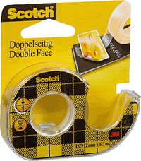 CINTA SCOTCH DOBLE CARA ANCHO 19x33 R: 6661933