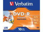 DVD-R VERBATIM 4, 7GB 16X R: 43521