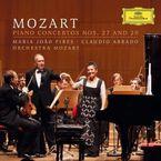 MOZART: PIANO CONCERTOS NºS 27 AND 20 * MARIA JOAO PIRES / CLAUDIO