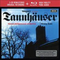 WAGNER: TANNHAUSSER (EDI. LIM. ) (3 CD+BLU-RAY) * GEORG SOLTI