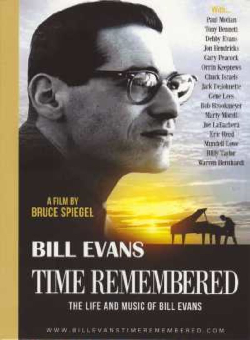 THE LIFE AND MUSIC OF BILL EVANS (DVD)