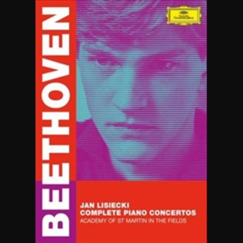 BEETHOVEN: COMPLETE PIANO CONCERTOS (DVD) * JAN LISIECKI