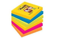 PAQ / 6 POST IT SUPERSTICKY 76X76 RIO R: 6546SSRIOEU