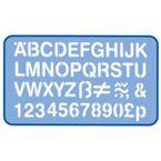 PLANTILLA LETRAS / NUMEROS 30MM R: H93200