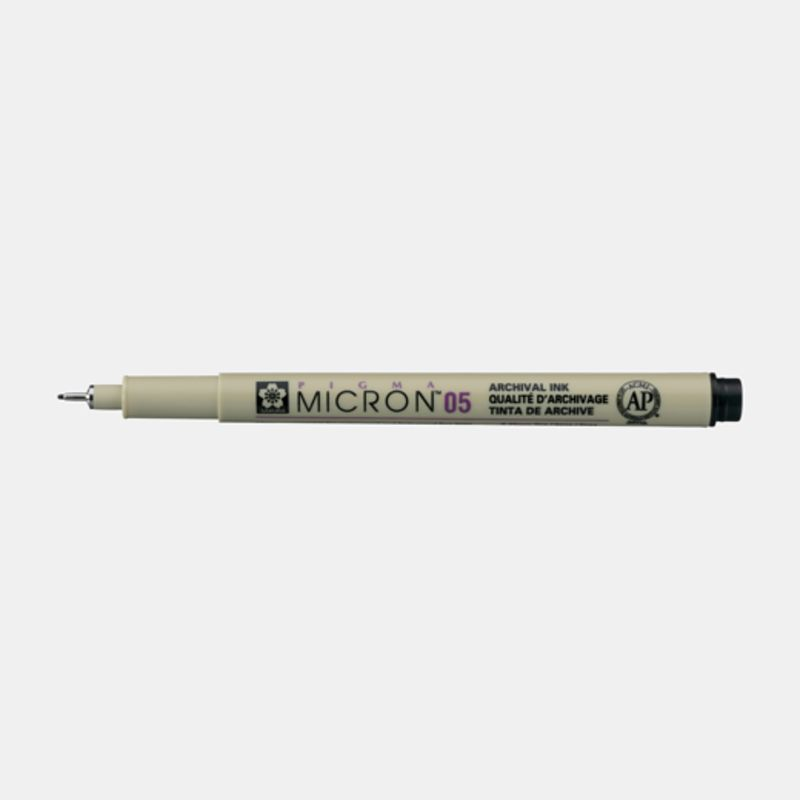 C / 12 PIGMA MICRON 05 NEGRO#