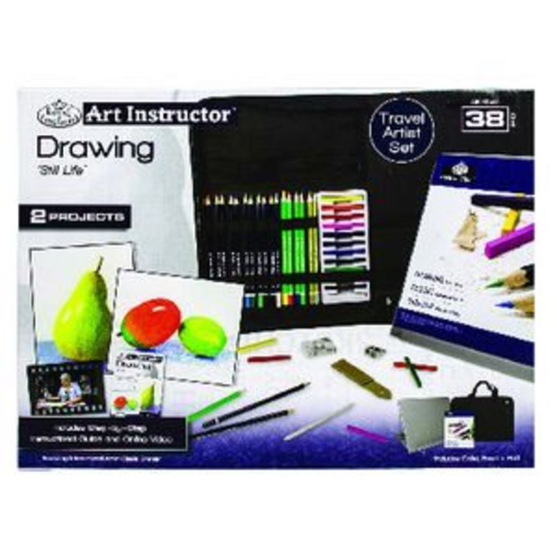C / 38 PIEZAS DIBUJO SETS DE PINTOR TRAVEL SET R: 360519