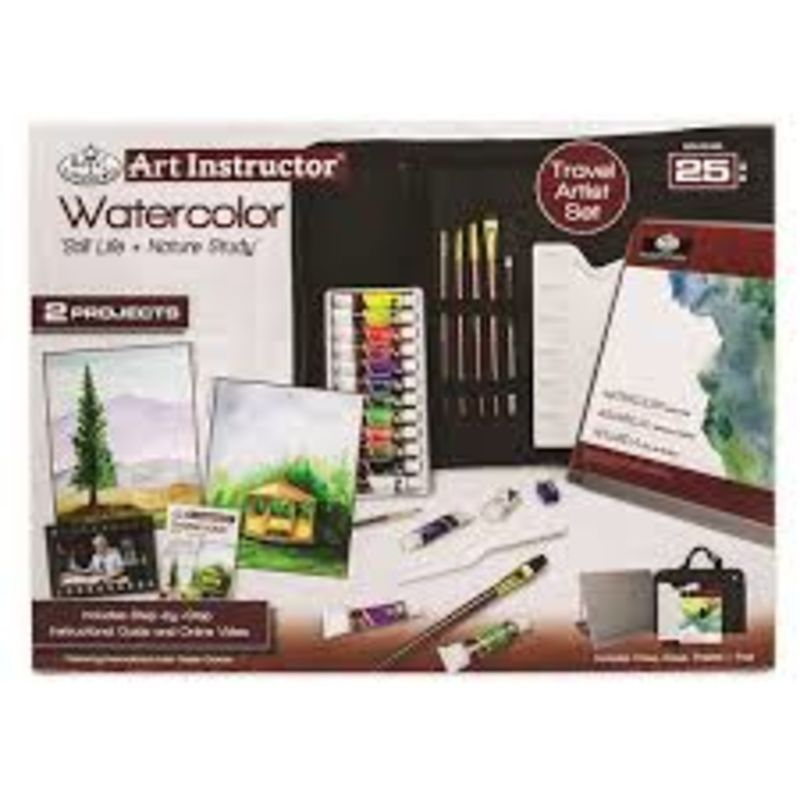 C / 25 PIEZAS ACUARELA WATERCOLOR TRAVEL SET R: 360533