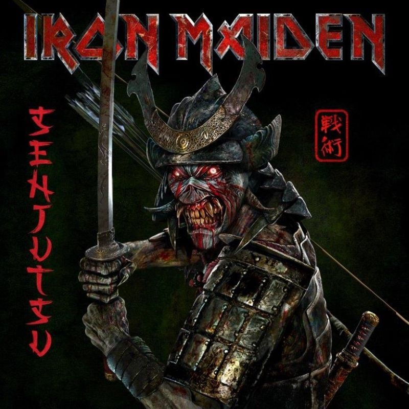 senjutsu (digipack) (2 cd) - Iron Maiden