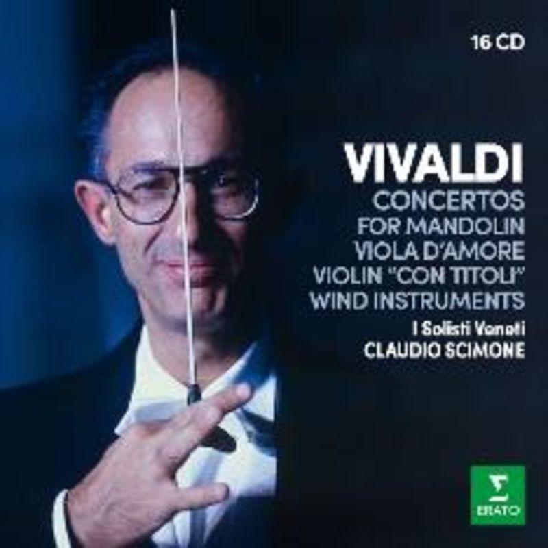 VIVALDI: CONCERTOS FOR WIND INSTRUMENTS (16 CD) * VARIOS