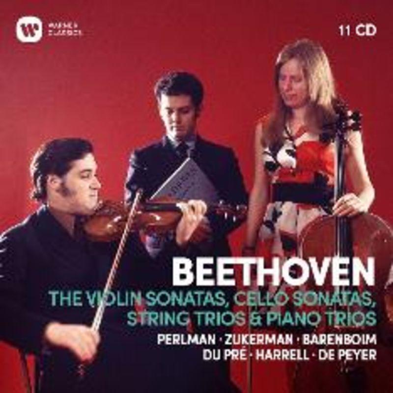 BEETHOVEN: COMPLETE VIOLIN SONATAS (11 CD) * BARENBOIM, ZUKERMAN,
