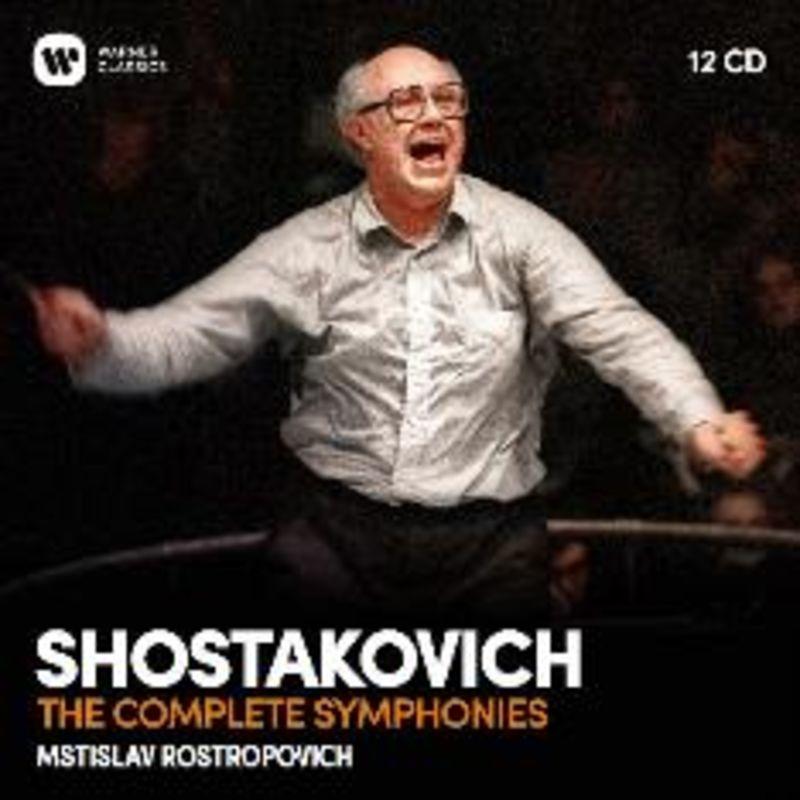 SHOSTAKOVICH: COMPLETE SYMPHONIES (12 CD) * VARIOS