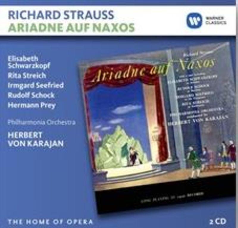 STRAUSS: ARIADNE AUF NAXOS (2 CD) * HERBERT VON KARAJAN