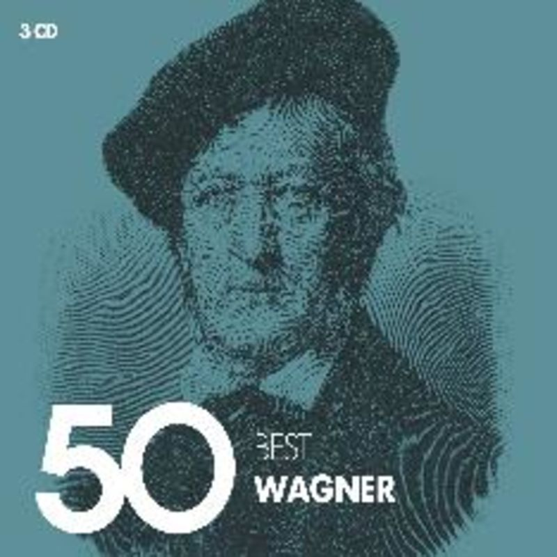 50 Best Wagner (3 Cd) - Varios