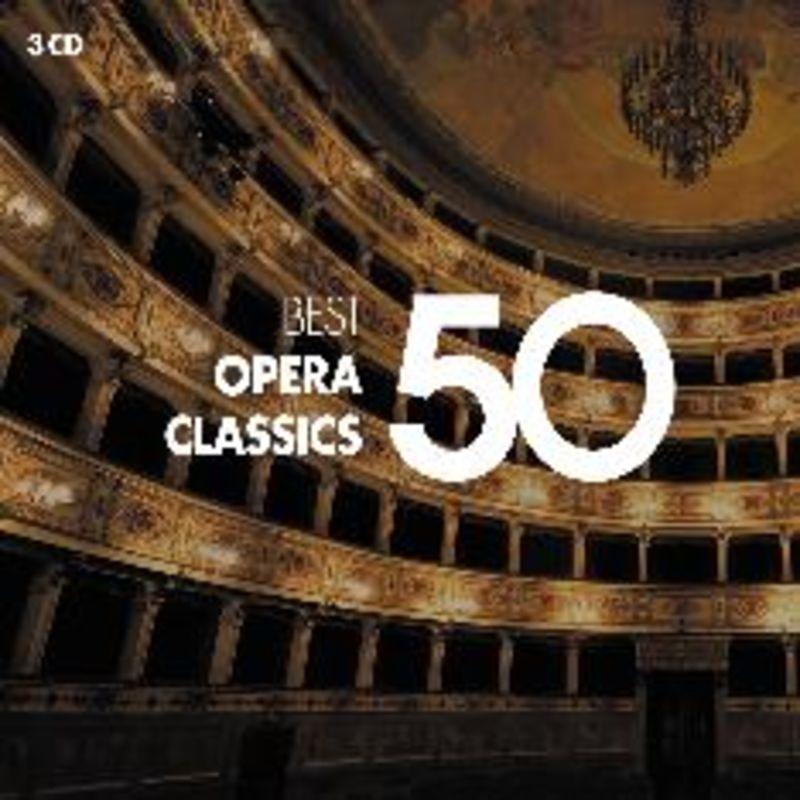 50 Best Opera (3 Cd) - Varios