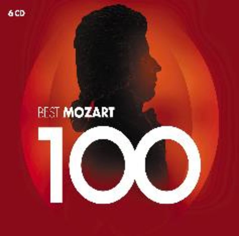 100 BEST MOZART (6 CD)