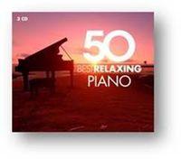 50 Best Relaxing Piano (3 Cd) - Varios