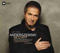 MOZART: PIANO CONCERTOS 25 & 27 * PIORT ANDERSZEWSKI