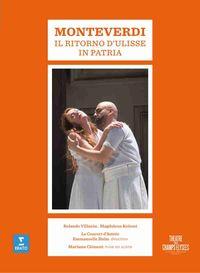 MONTEVERDI: IL RITORMO DI ULISSE IN PATRIA (2 DVD) * ROLANDO VILLAZON