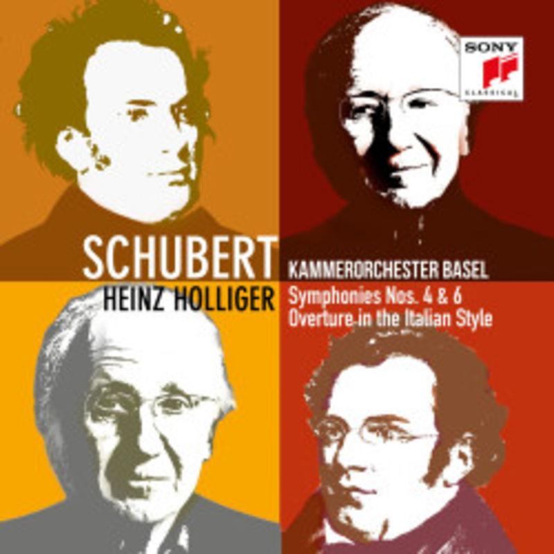 SCHUBERT: SYMPHONIES 4 & 6 / KAMMERORCHESTER BASEL