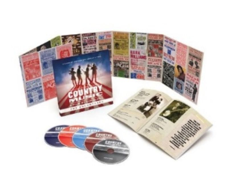 COUNTRY MUSIC, A FILM BY KEN BURNS (5 CD)