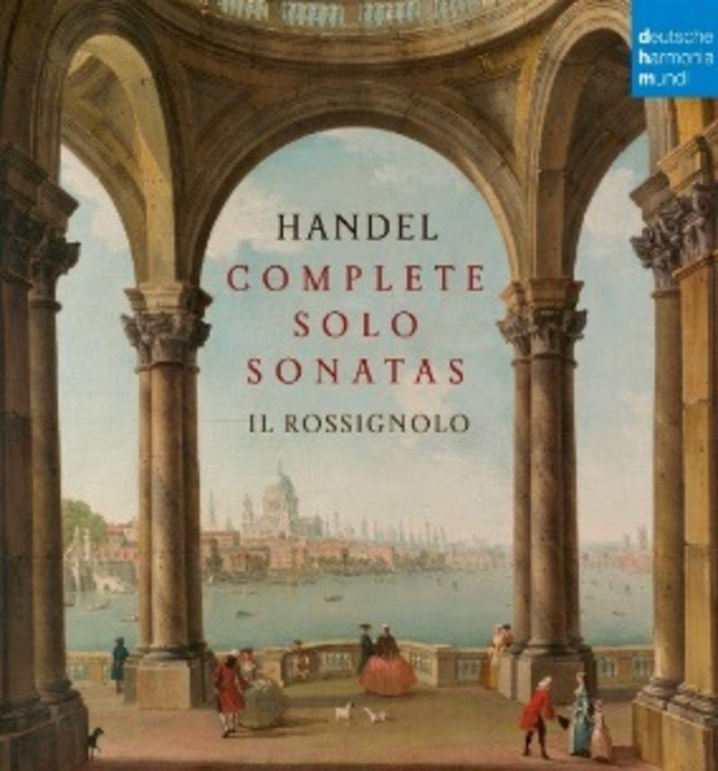COMPLETE SOLO SONATAS BY HANDEL (4 CD) * MARTINO NOFERI, IL ROSSIGNOL