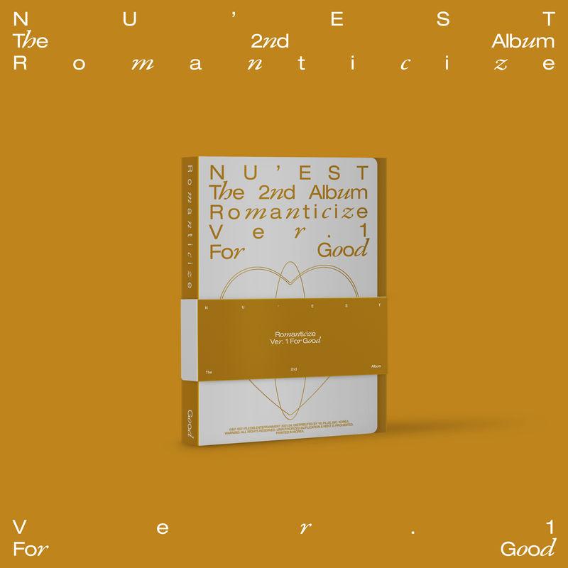 ROMANTICIZE THE 2ND ALBUM (FOR GOOD BOXSET) * NU'EST