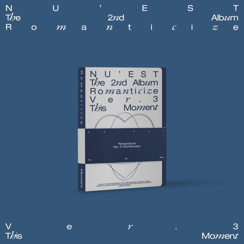 ROMANTICIZE THE 2ND ALBUM (THIS MOMENT BOX SET) * NU'EST