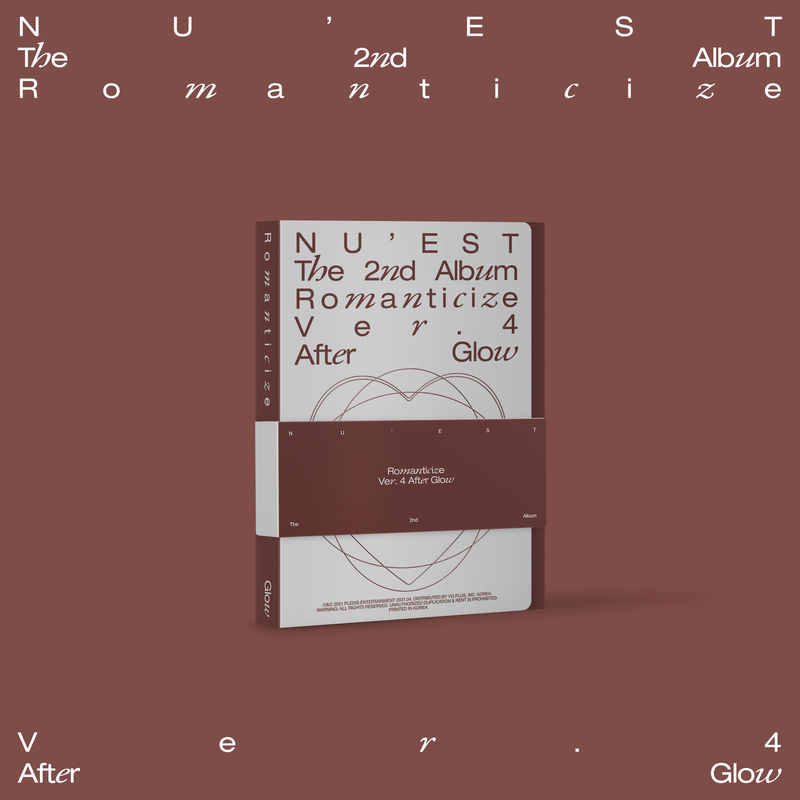 ROMANTICIZE THE 2ND ALBUM (AFTER GLOW BOXSET) * NU'EST