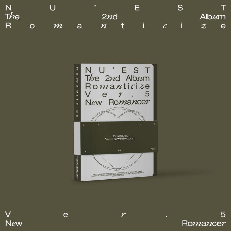 ROMANTICIZE THE 2ND ALBUM (NEW ROMANCER BOXSET) * NU'EST
