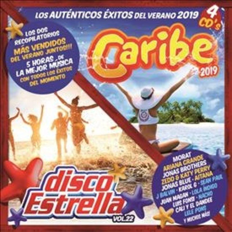 Caribe 2019 + Disco Estrella, Vol.22 (2019) (2 Cd) - Varios