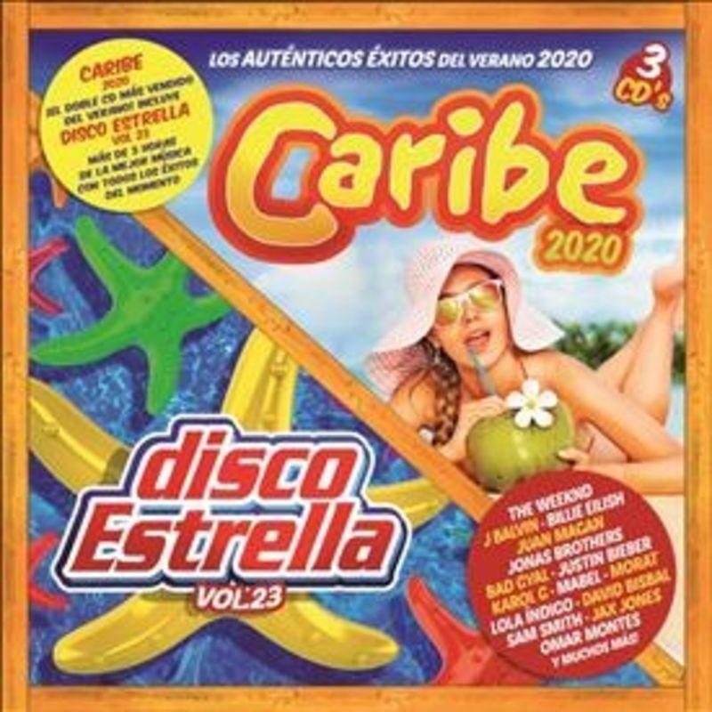 CARIBE 2020 + DISCO ESTRELLA VOL.23 (3 CD)