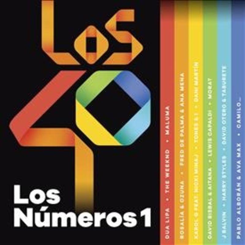 LOS NUMEROS 1 DE LOS 40 (2020) (2 CD)