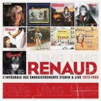 INTEGRALE DES ENREGISTREMENTS STUDIO ET LIVE 1975-1983 (10 CD) * RENA
