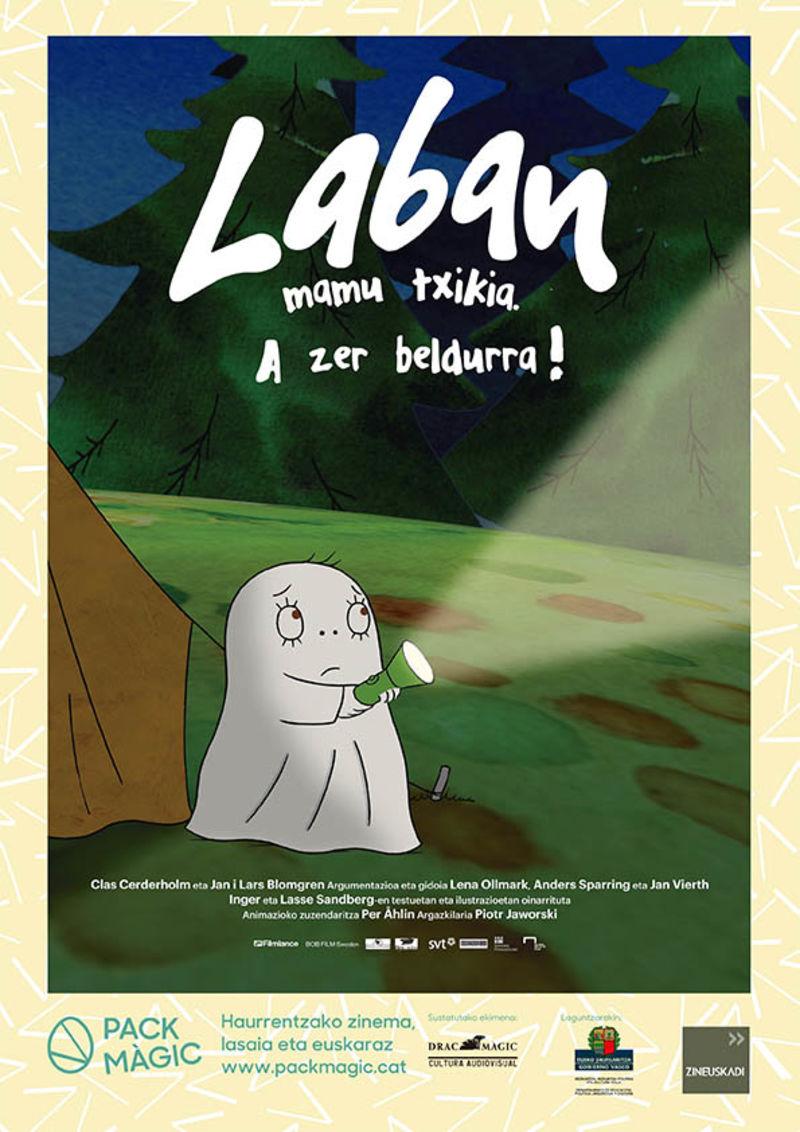 (dvd) Laban, Mamu Txikia - A Ze Beldurra! - Batzuk