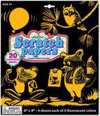 SCRATCH PAPERS FLUORESCENTE R: SAFLU