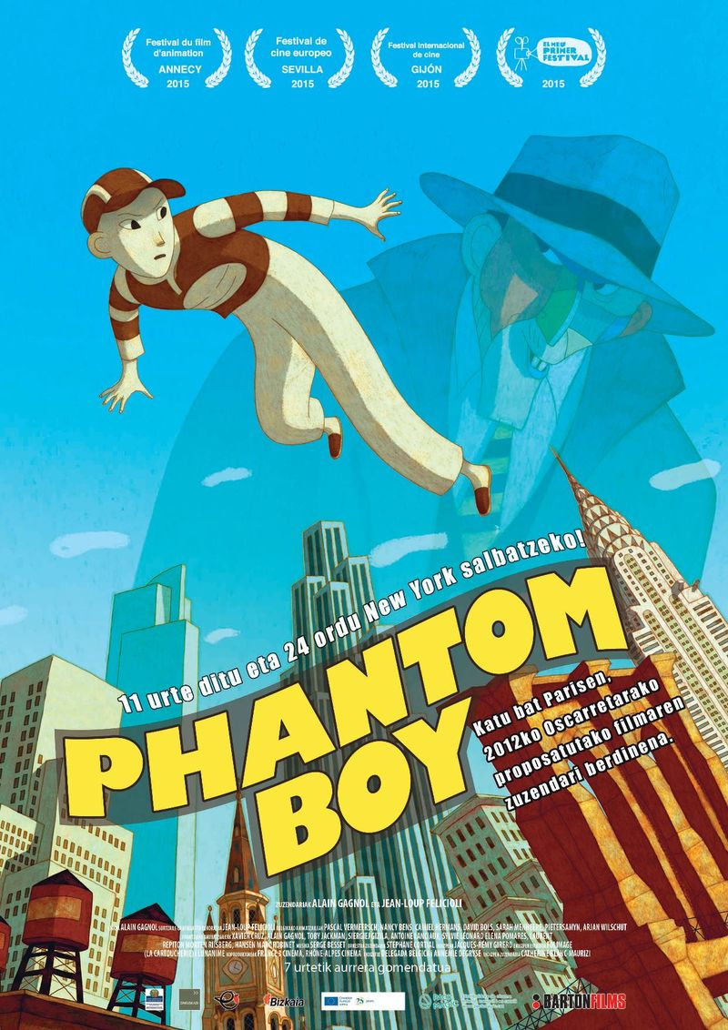 (dvd) Phantom Boy - J. FELICIOLI