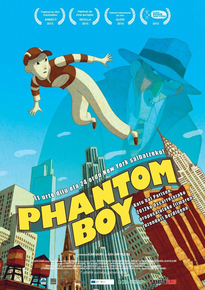 (dvd) Phantom Boy - J. FELICIOLI