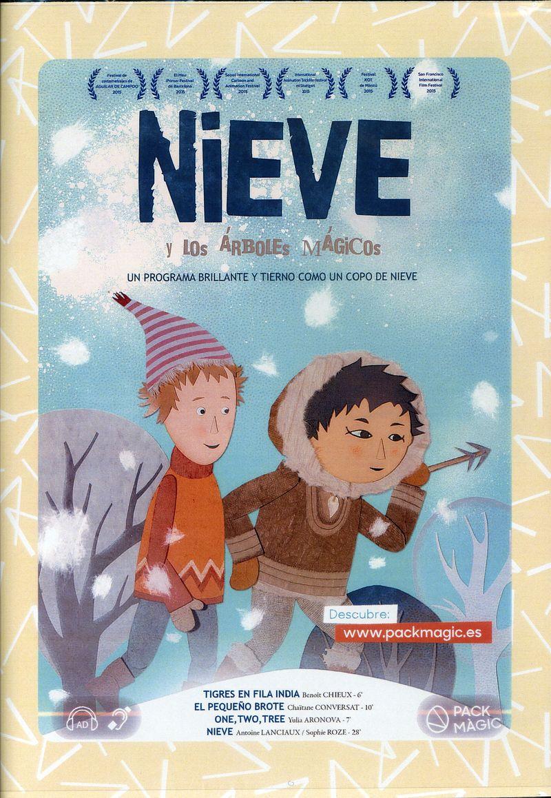 (DVD) NIEVE Y LOS ARBOLES MAGICOS