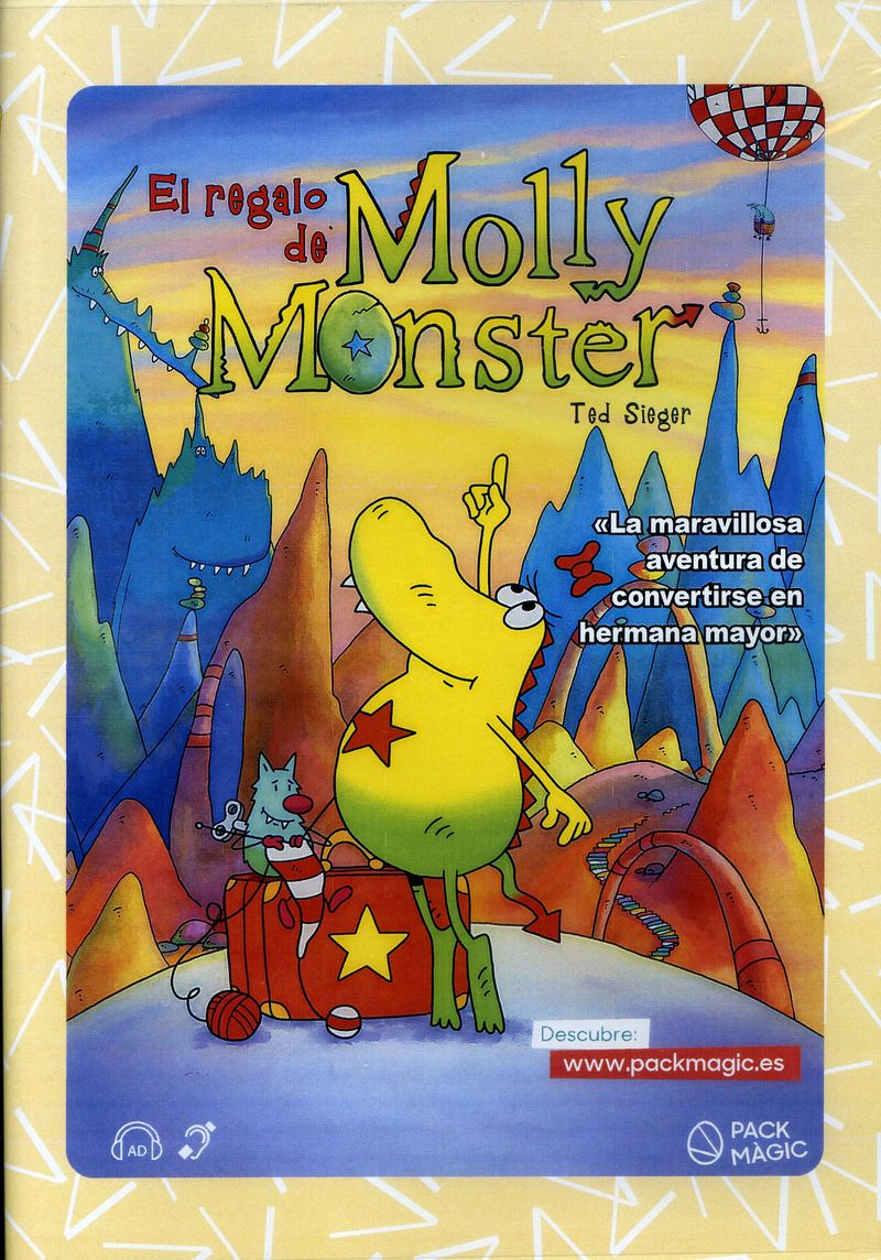 (dvd) El Regalo De Molly Monster - Ted Sieger