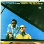 GEORGE SHEARING PLAYS WITH THE QUINTET AND STRING CHOIR * NAT KING C