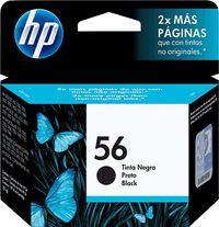 CART. HP. DESKJET N.56 450-5550 / 7000 / PSC2000 NEG. R: C6656AE