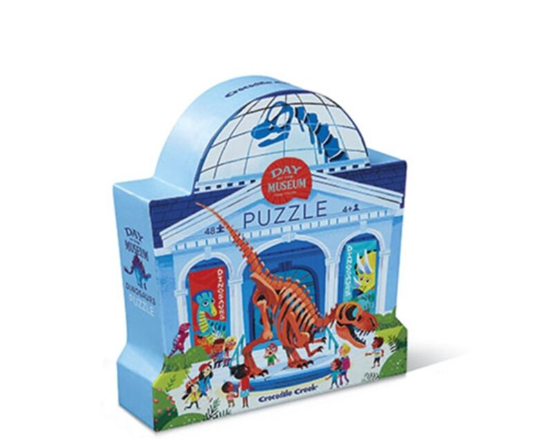 PUZZLE 48PC DAY AT THE MUSEUM / DINOSAUR R: 3840631