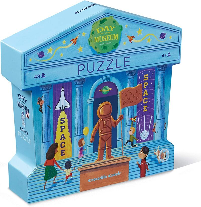 PUZZLE 48PC DAY AT THE MUSEUM / SPACE R: 3840632