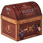 NOVELTY SHAPED BOX PUZZLE / TREASURE CHEST 48pcs R: 3840911