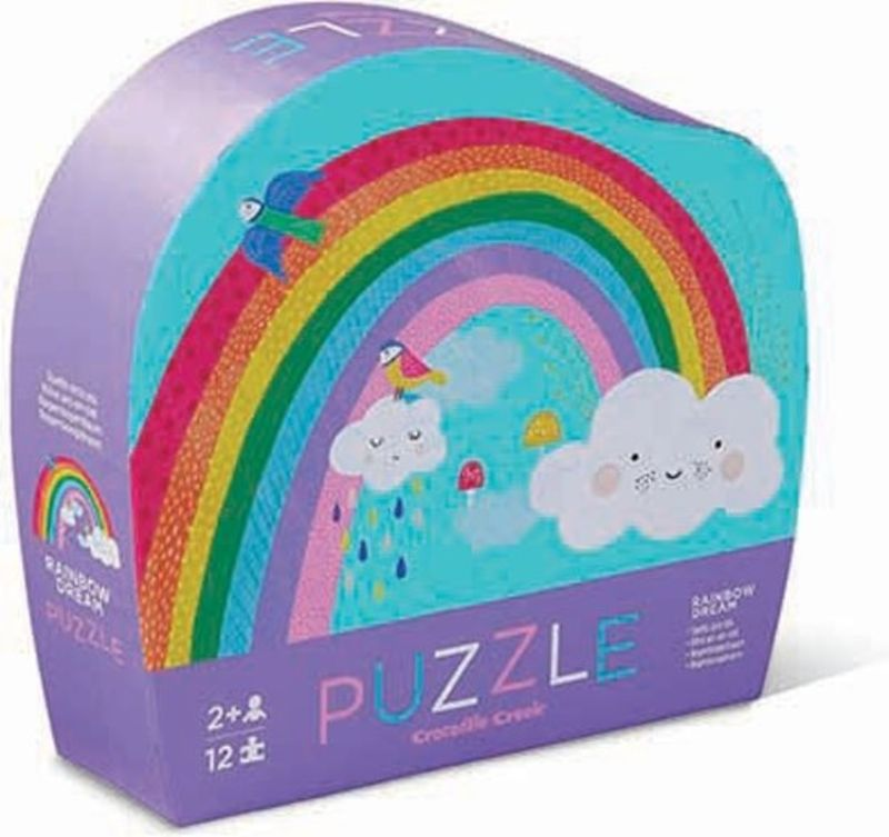 PUZZLE MINI RAINBOW 12PC R: 3841122
